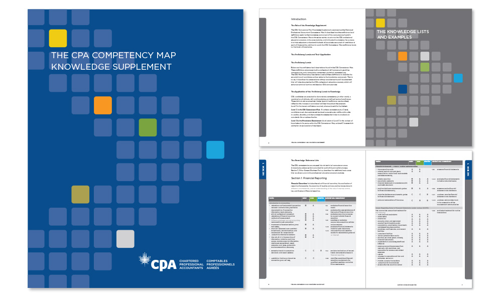 CPA Knowledge Supplement, companion document