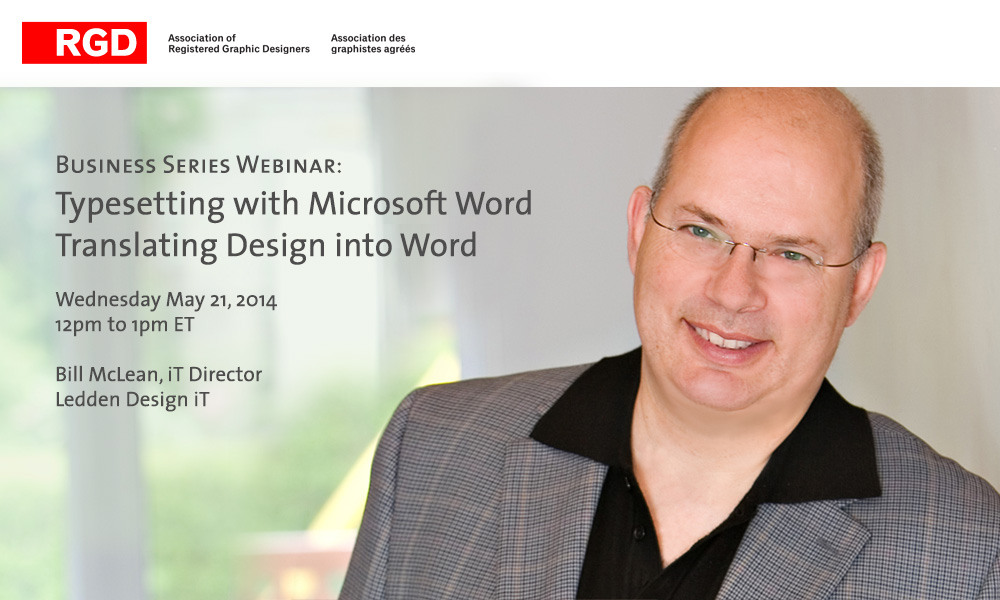 Microsoft Office is the mainstay communication tool for business and is often perceived as being designer-hostile. This webinar will help you typeset documents with Microsoft Word, create documents that look identical to the same document designed in InDesign™ or QuarkXpress™, and empower your clients to create documents that respect your design while using Microsoft Word. Click to register.